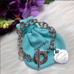 ❤️ Tiffany & Co. - Heart Tag Toggle Bracelet